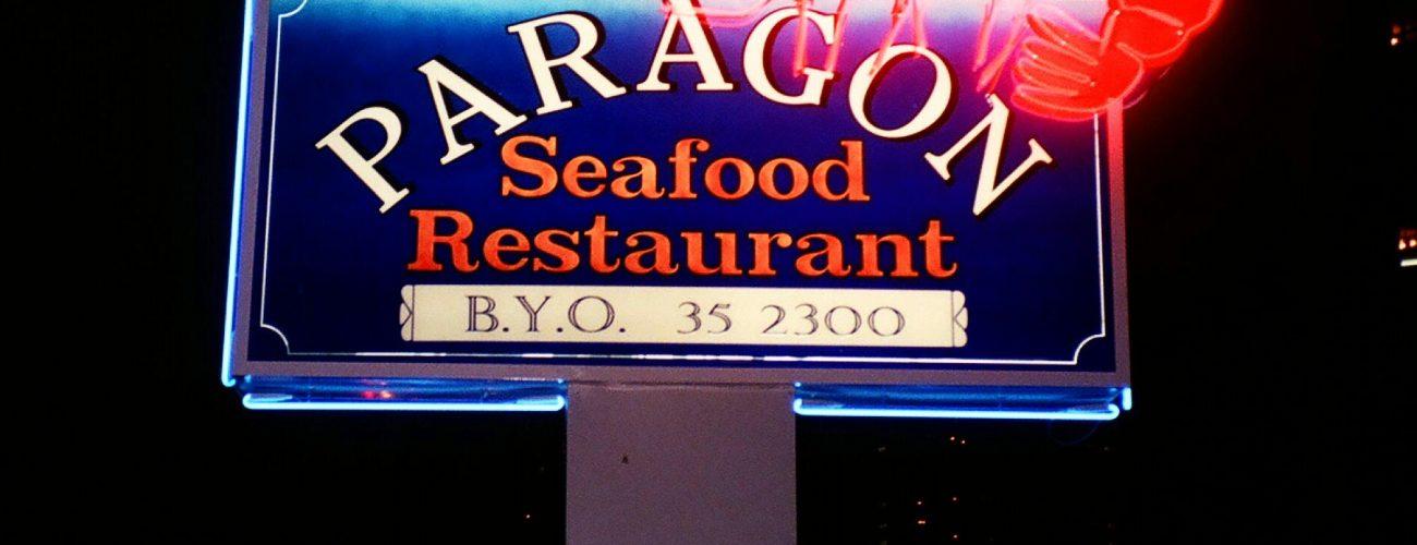 Gold Coast Seafood Restaurant Sign